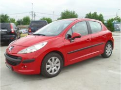 PEUGEOT 207, berlina 5 usi, 1.4HDI (68 CP) in rate