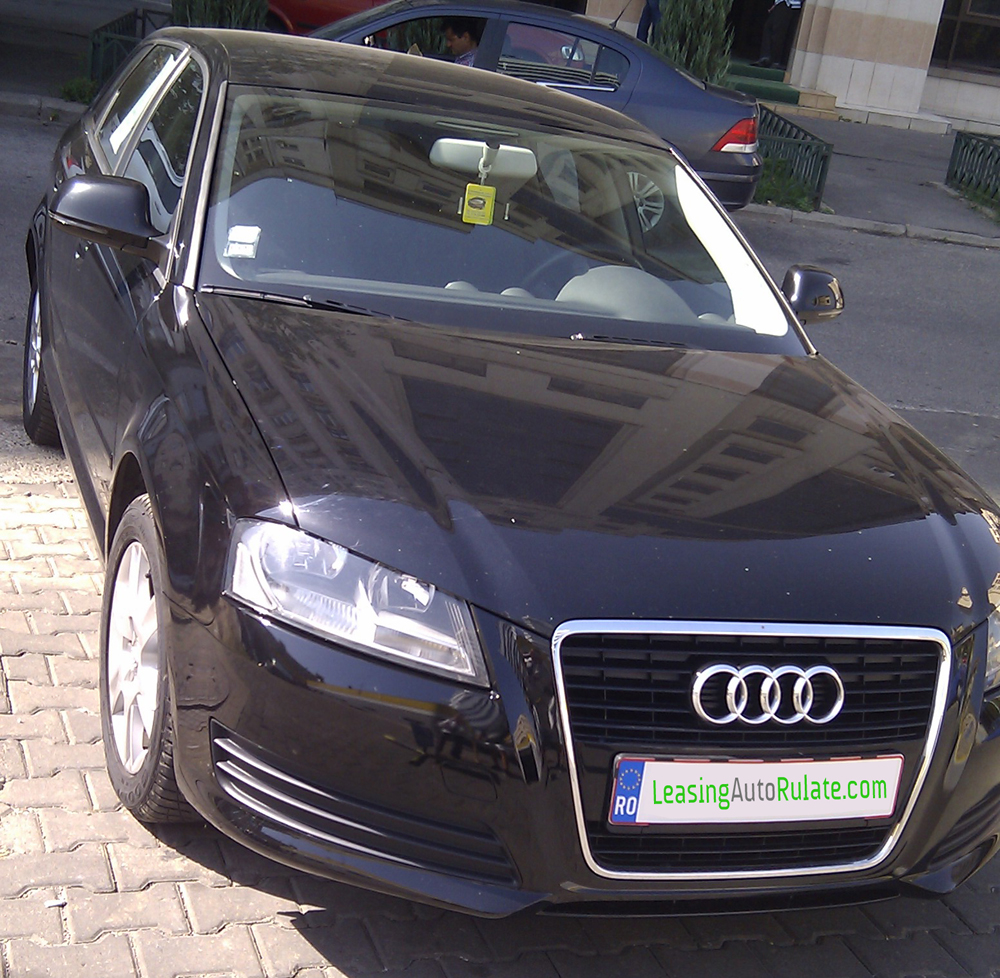 audi a3 sportback hatchback 1 9 tdi 2009 105cp euro5 in rate leasing auto rulate. Black Bedroom Furniture Sets. Home Design Ideas