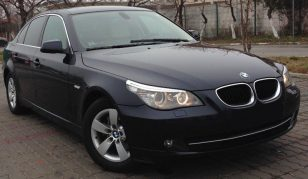 BMW 520, berlina, 2.0 diesel, 2009, 177 cp, euro 5, leasing auto second hand