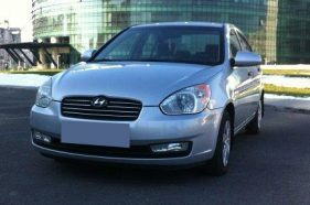 HYUNDAI Accent, berlina, 1.4 benzina, 2008, 95 cp, euro 5, leasing auto second hand