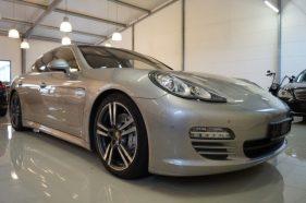 Porsche Panamera, hatchback, 4.8 benzina, 400 cp, 2010, leasing auto second hand