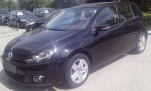 Volkswagen Golf VI, hatchback, 1.6 diesel, 2010, 105 cp, leasing auto second hand