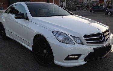 Mercedes-Benz E350 AMG COUPE, 3.0 diesel, 2010, 231 cp, euro 5 leasing auto rulate