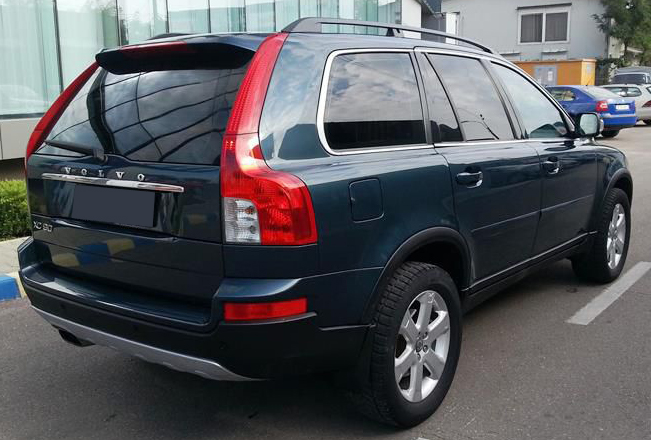 volvo xc90 4x4 2 4 diesel 2009 190 cp euro 4 leasing. Black Bedroom Furniture Sets. Home Design Ideas