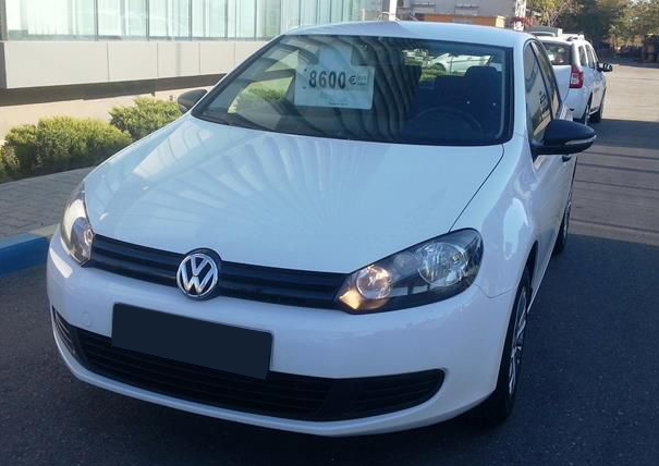 leasing vw golf 2012 1 4 benzina 80 cp 98785 km. Black Bedroom Furniture Sets. Home Design Ideas