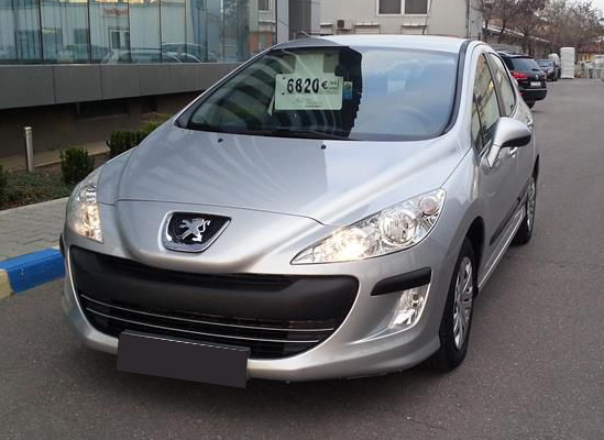 leasing peugeot 308 hatchback 2010 1 6 d 110cp 119016 km peugeot leasing auto rulate. Black Bedroom Furniture Sets. Home Design Ideas