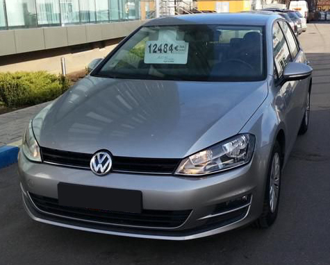 leasing vw golf vii 2013 1 6 d 105cp 82236 km volkswagen leasing auto rulate. Black Bedroom Furniture Sets. Home Design Ideas