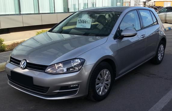 leasing vw golf vii 2013 1 6 d 105cp 82236 km. Black Bedroom Furniture Sets. Home Design Ideas