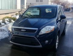 LEASING FORD KUGA 4X4 AUTOMAT 2012, 2.0d, 136cp, 124000 km