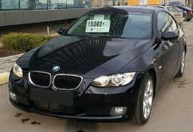 LEASING BMW 320 coupe 2008, 2.0 diesel, 177cp, 89359 km