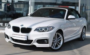 LEASING BMW 220 cabrio 2015, 2.0TDI, 190cp, 9000 km