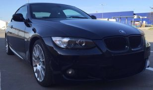 LEASING BMW 320 coupe automat 2009, 2.0 diesel, 177cp, 135100 km