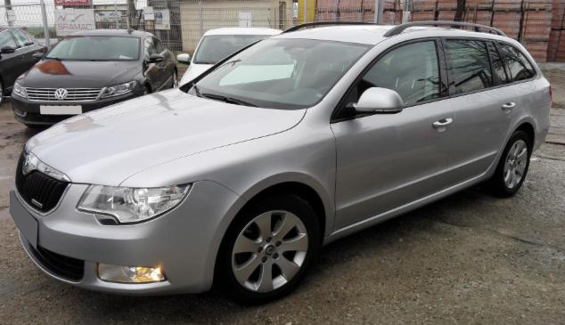 leasing skoda superb break 2011 1 6tdi 105cp 106880 km. Black Bedroom Furniture Sets. Home Design Ideas
