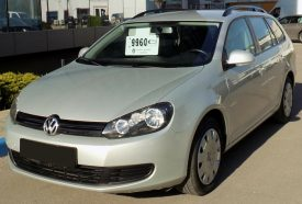 LEASING VW GOLF VI 2011, 1.6 TDI, 105cp, 40479 km