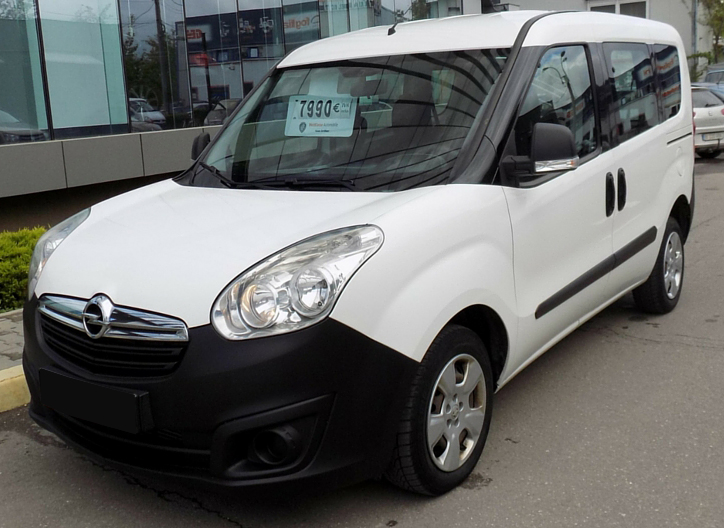 leasing opel combo 2012 1 6tdi 90cp 117540 km. Black Bedroom Furniture Sets. Home Design Ideas