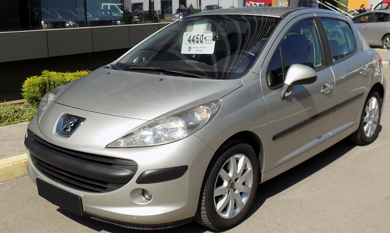 leasing peugeot 207 2006 1 6 diesel 90cp 120375 km. Black Bedroom Furniture Sets. Home Design Ideas