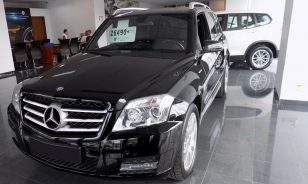 LEASING MERCEDES-BENZ GLK 250 SUV 2012, 2.2 diesel, 205cp, 123640 km