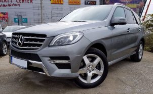 LEASING Mercedes-Benz ML250 AMG 4matic 2012, 2.2 diesel, 205 cp, 177000 km